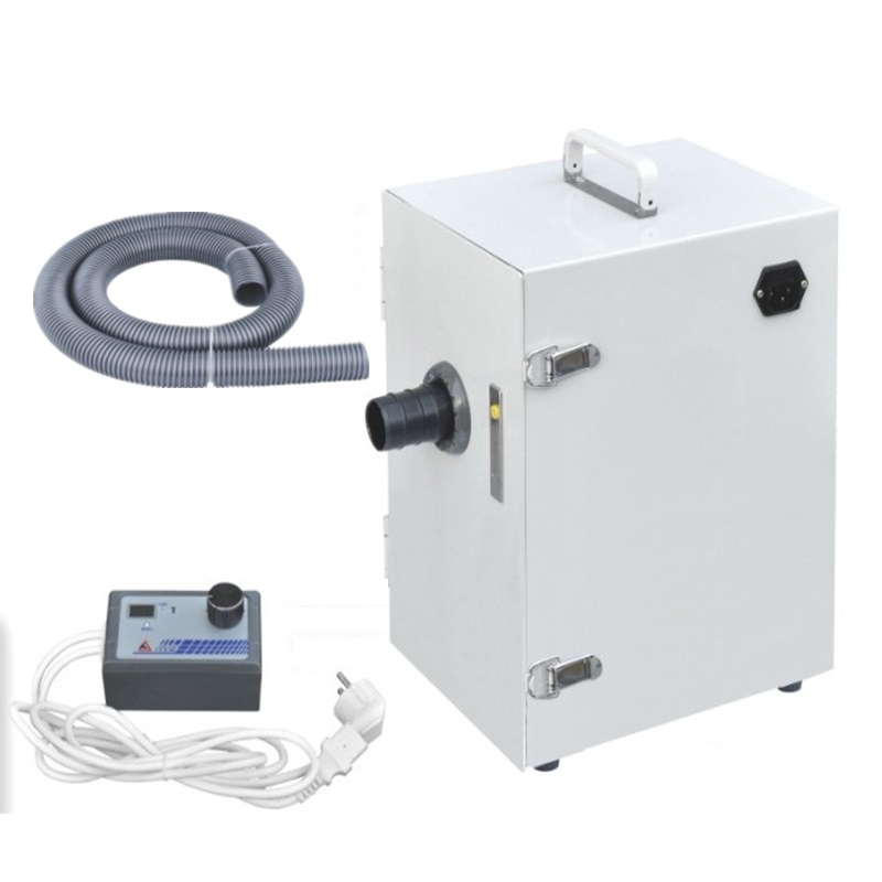 Dental Lab Cleaning Machine Dental Lab Vacuum Dust Collector With Digital Control Vacuum Dust Extractor