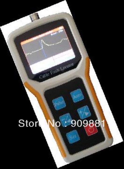 TL260 affichage de forme d'onde portable couleur LCD localisateur de défaut de câble TDR/CFL manuel: 8 KM/Auto: 4 km/Max résolution: 1 m vente chaude
