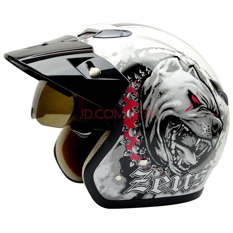 Бесплатная доставка,Зевс 381C открытым лицом 3/4 мотоциклов Мотокросс КАСКО лошади шлем, Джет старинные ретро шлем, Стиль Момо, ЕСЕ