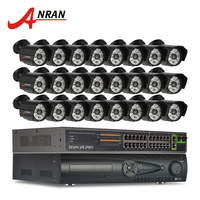 24CH H 264 HDMI NVR 24CH POE Switch CCTV Camera System 9TB HDD Onvif 1080P HD
