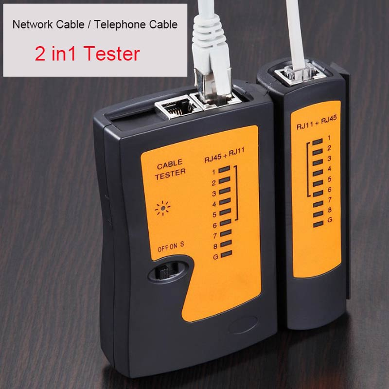 Ingelon cable tester network testing tools ethernet rj11 LAN Cable Telephone Line Tester wholesale rj45 Tracker netwerk tester