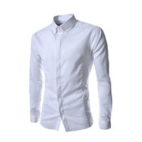 Long Sleeve Clothes New Trend Mens Tailored Dress Shirt With OEM Service Mens Shirts Camisa Dos