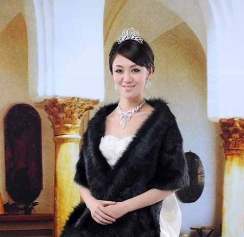 White-Black-Faux-Fur-Shrug-Cape-Stole-Long-Wraps-Cheap-Wedding-Party-Bridal-Special-Occasion-Shawls (1)