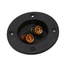 Автомобильная стереоколонка коробка терминал круглая чашка «Весна» коннектор Клеммник для сабвуфера