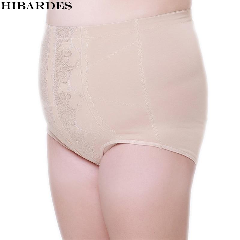 Women's Underwear Briefs Plus Large version in a size Ladies Knickers Adjust the abdomen for women Intimates   panties