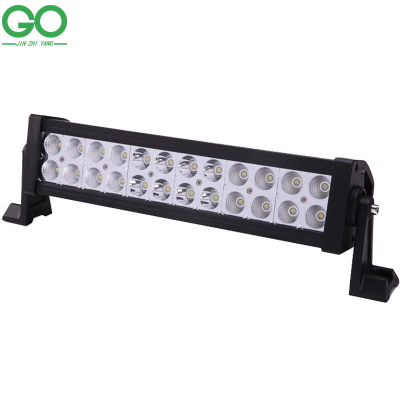 72W LED Work Light Bar Offroad Boat Car Tractor Truck 4x4 4WD SUV ATV 12V 24V Spot Flood Combo Beam Bridgelux Chip Strip Lights car styling 120w 10 9inch led light bar offroad 24v cree chip driving work lamp for truck suv atv 4x4 4wd spot flood combo beam
