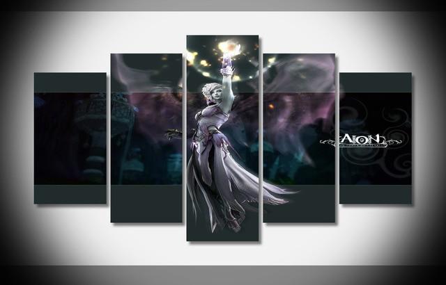 6675 Aion en línea hechicero asmodian Girl Power luz juego poster ...