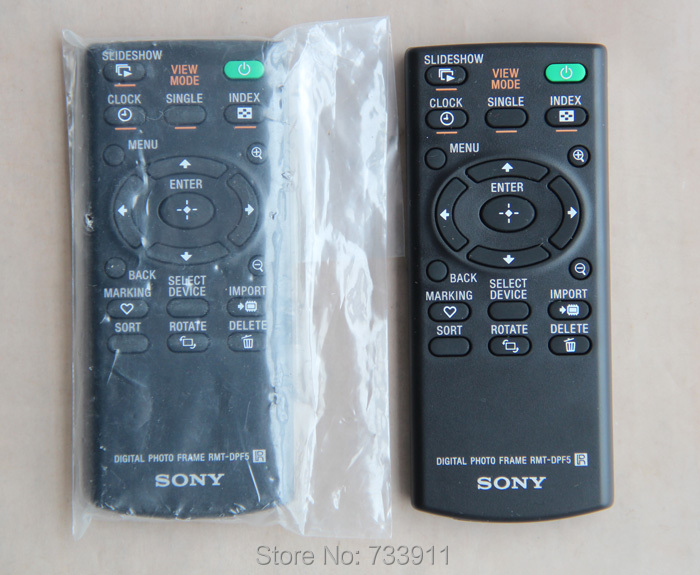 new rmt dpf5 digital photo frame remote control for sonychina mainland