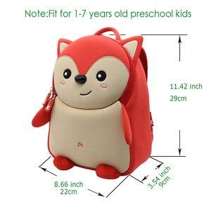 Image 5 - NOHOO Toddler Children School Bag for Boys Kids Waterproof Backpack Kindergarten Girls 3D Cartoon Shape Mochila for 2 7 Years