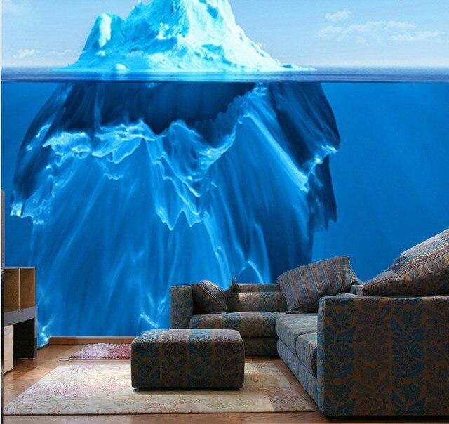 DIY Beautiful Underwater World Wallpaper Mural Bedroom Living Room Wall Decor Washable Aquarium Feeling