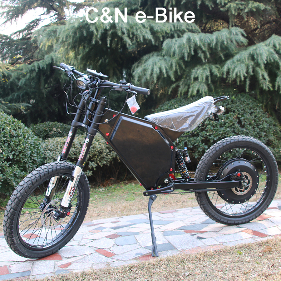 2017 Powerful Electric Motorcycle 72v 8000w Enduro Ebike Electric Mountain Bike Hot Sale