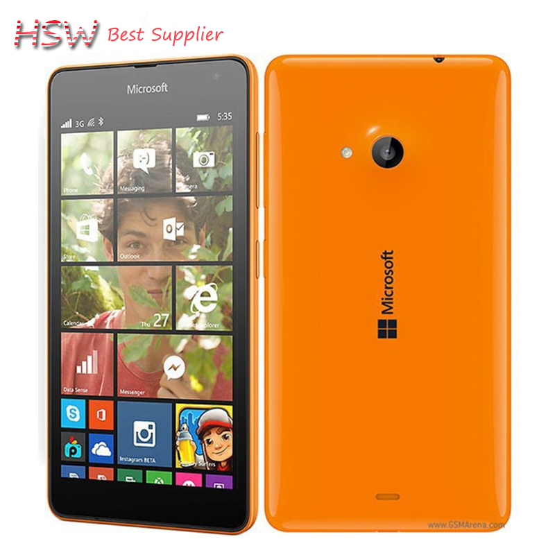 Aliexpress.com : Buy Original Nokia Lumia 535 Cell Phones ...