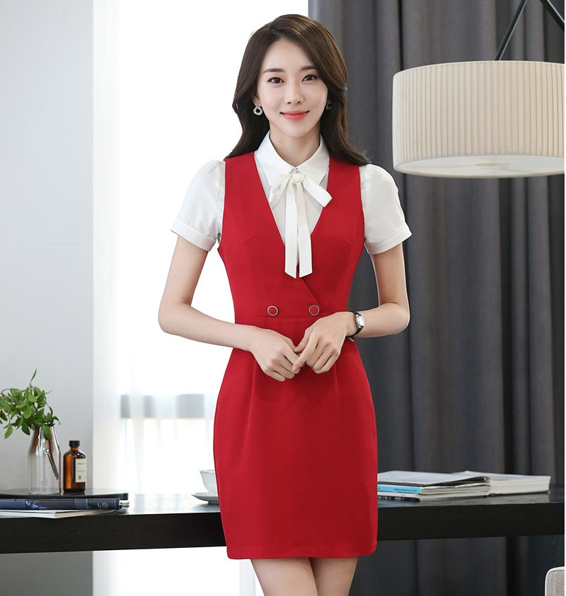 New Fashion Slim Spring Summer Womens Dresses Formal Ol Styles