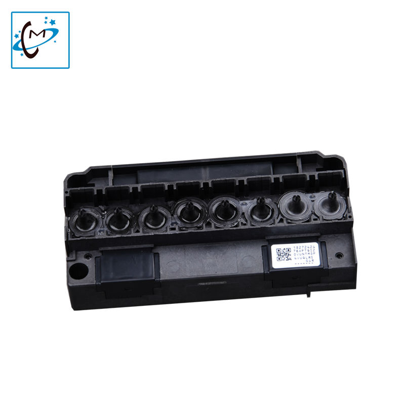 Hot sale UV flatbed printer F186000 DX5 print head Manifold Lecai Mutoh Mimaki eco solvent plotter printer head  cover hot sale uv flatbed plotter printer spare parts gongzheng gz thunderjet black sub ink tank with level sensor