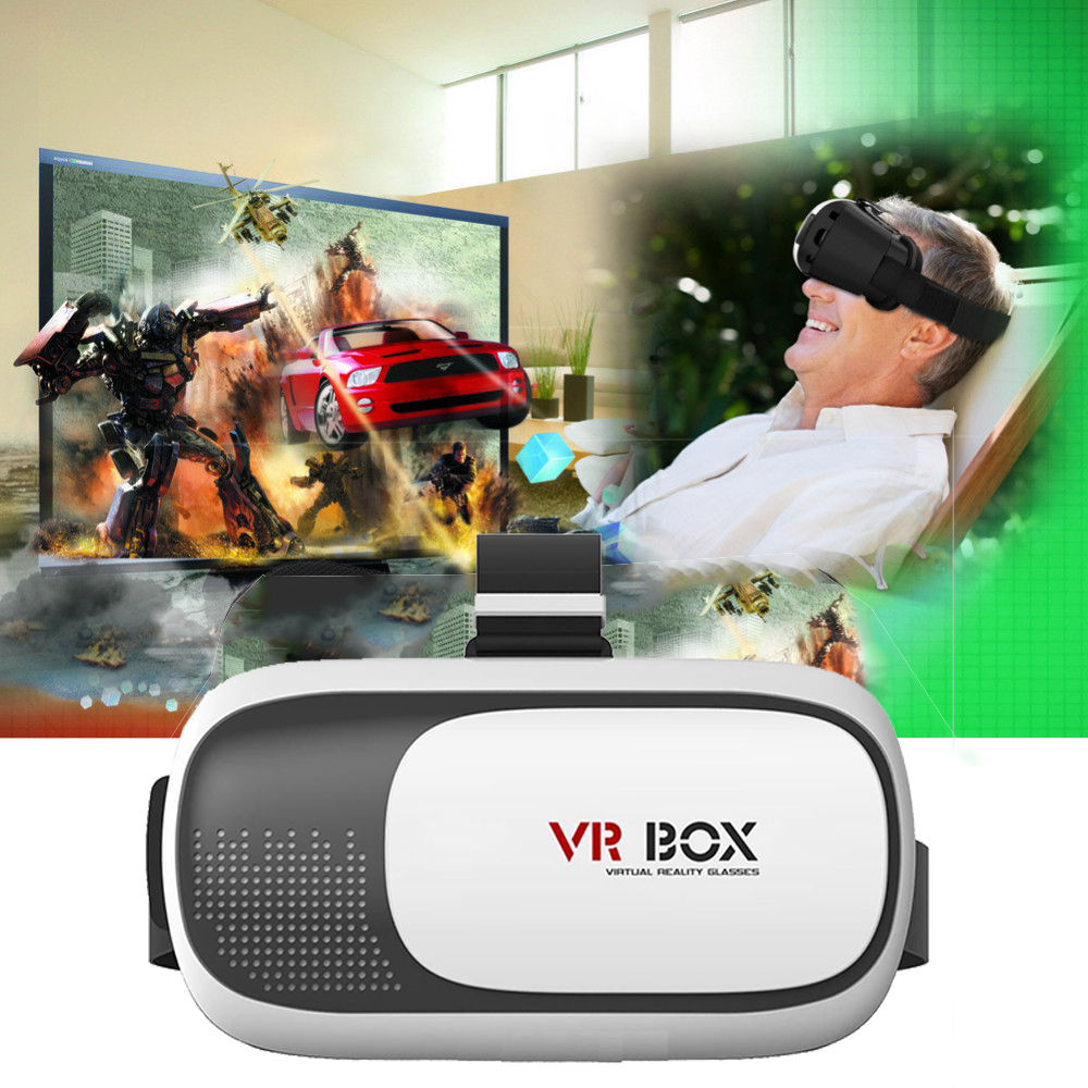 Timethinker BOX2 VR Glasses Virtual Reality Glasses Rift 3D Games Phone Version  Movie for 4.7″-6.0″ phone Screen New Generation
