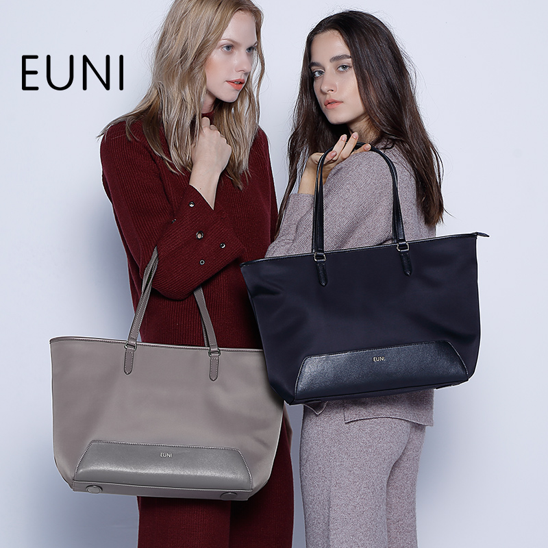 EUNI Waterproof Women Handbag Large Capacity Famous Brand Tote Bag High Quality