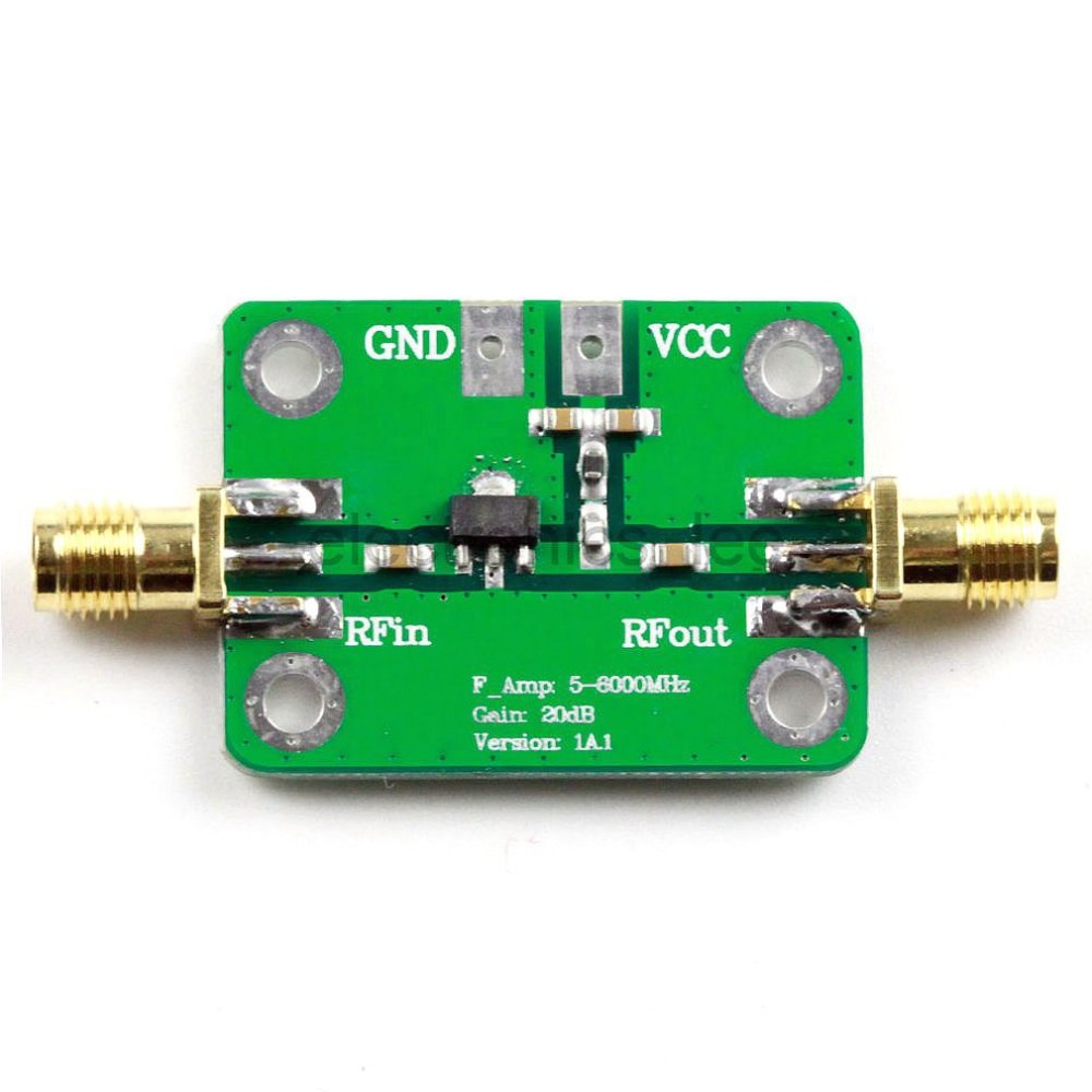 1PC 5M 6 GHz Gain 20dB RF Ultra wideband Power Amplifier in Operational Amplifier Chips from Consumer Electronics