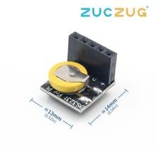 Точность DS3231 Модуль часов реального времени RTC DS3231 3,3 V/5 V с батареей для Raspberry Pi