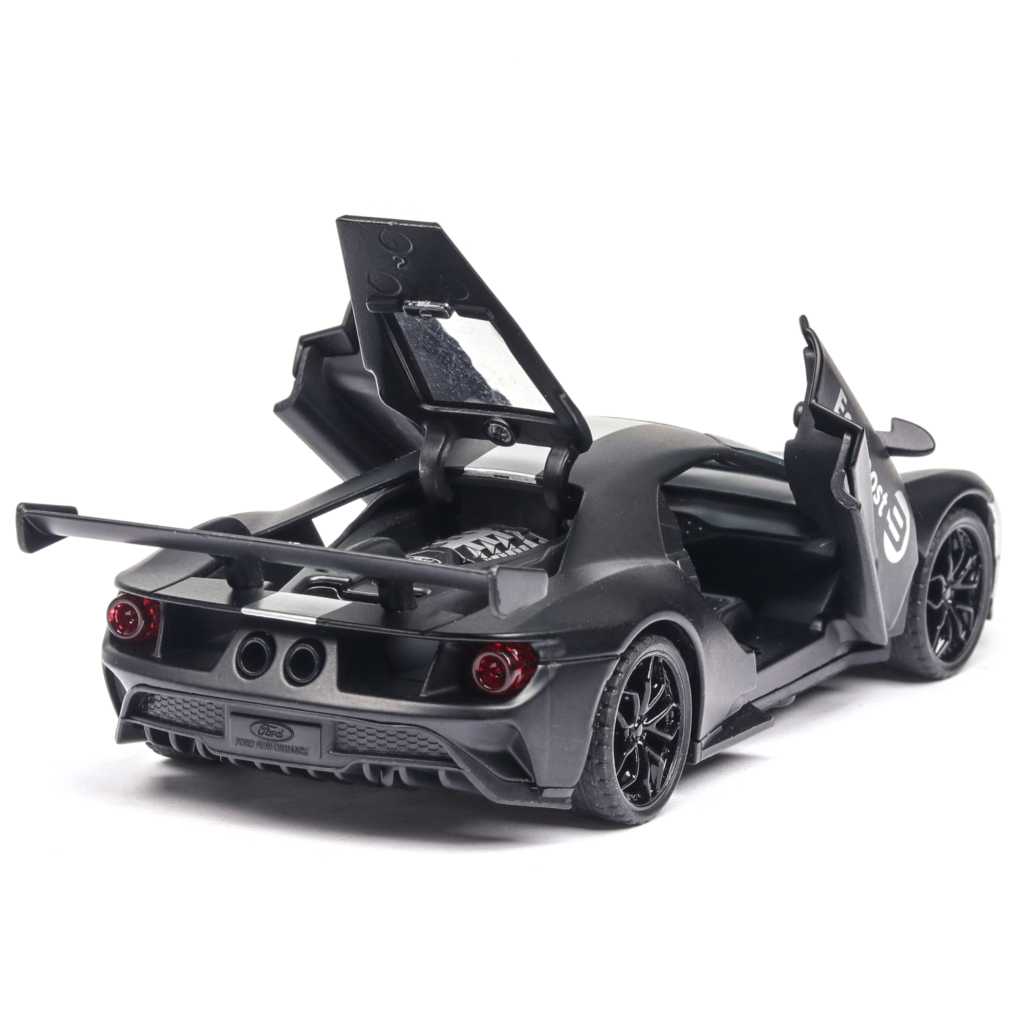 1 32 Ford GT Fiesta WRC Diecast Model Car Miniature Vehicle Racing can Open the door with sound and light in Diecasts Toy Vehicles from Toys Hobbies