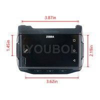 Для Zebra Motorola символ WT6000 ЖК дисплей Экран дисплея с Сенсорный экран и пластиковый корпус