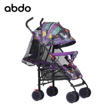 abdo Light Stroller Portable Folding Umbrella Carriage Aluminium Frame Baby Stroller Travelling Infant Trolley Free Shipping ultra light folding rainbow umbrella infant stroller car shock absorbers four wheels baby stroller baby carriage pram