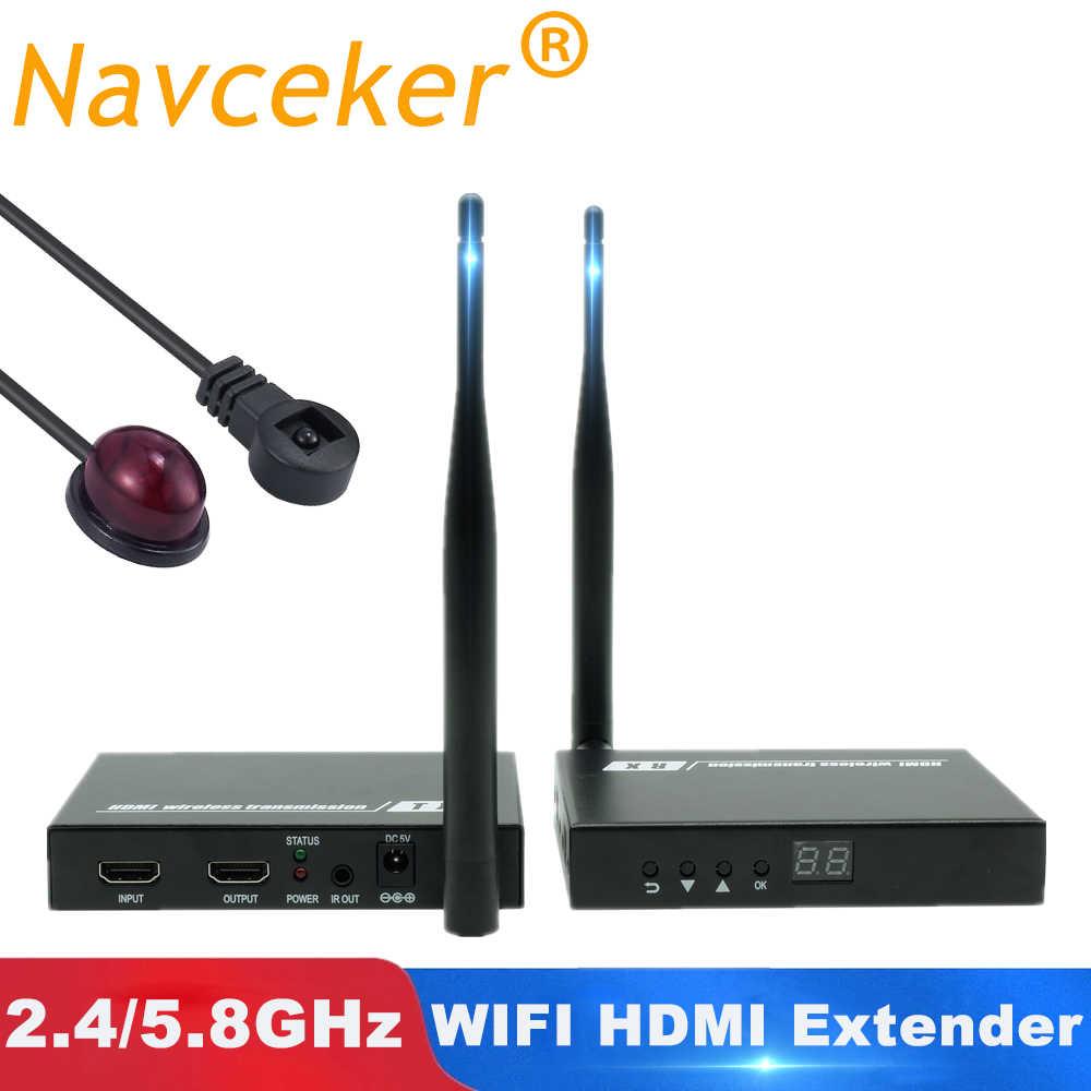 2019 5 Ghz Không Dây HDMI Truyền Tải Bộ Mở Rộng Hỗ Trợ HỒNG NGOẠI HDMI Bộ Truyền Phát Không Dây Bộ HD 1080P HDMI Bộ Phát