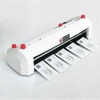 Oferta Cortador de tarjetas eléctrico tamaño A4 90 54mm tamaño de tarjeta SK316 máquina de corte de