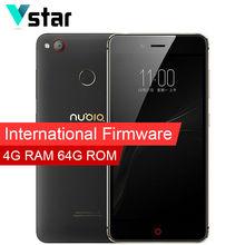 International Firmware Nubia z11 mini S Dual SIM Card 4GB RAM 64GB ROM Qualcomm 5.2 Inch 3000mAh Multi Language