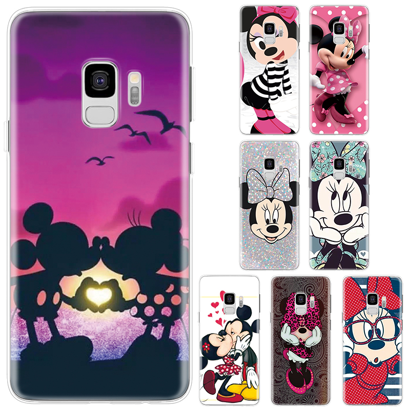 Cartoon Silicone Cover For <font><b>Samsung</b></font> Galaxy A70 A60 A50 A40 A30 A20e A10 A8s A6 A6s A5 A3 A7 2017 2016 <font><b>A8</b></font> Plus Star A9 <font><b>2018</b></font> Case image