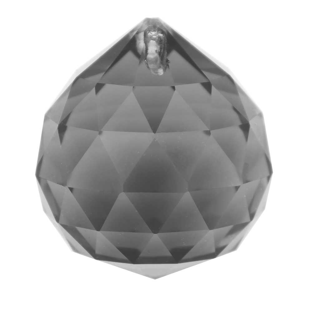 Black Gray 40mm 40 pcs/lot Chandelier Crystal Lighting Accessories Glass  Lamp Parts For Home