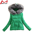 Women Winter Coat Wadded Jacket Long Sleeve Hooded Parka Overcoat Padded Coast And Jackets Plus Size YL633