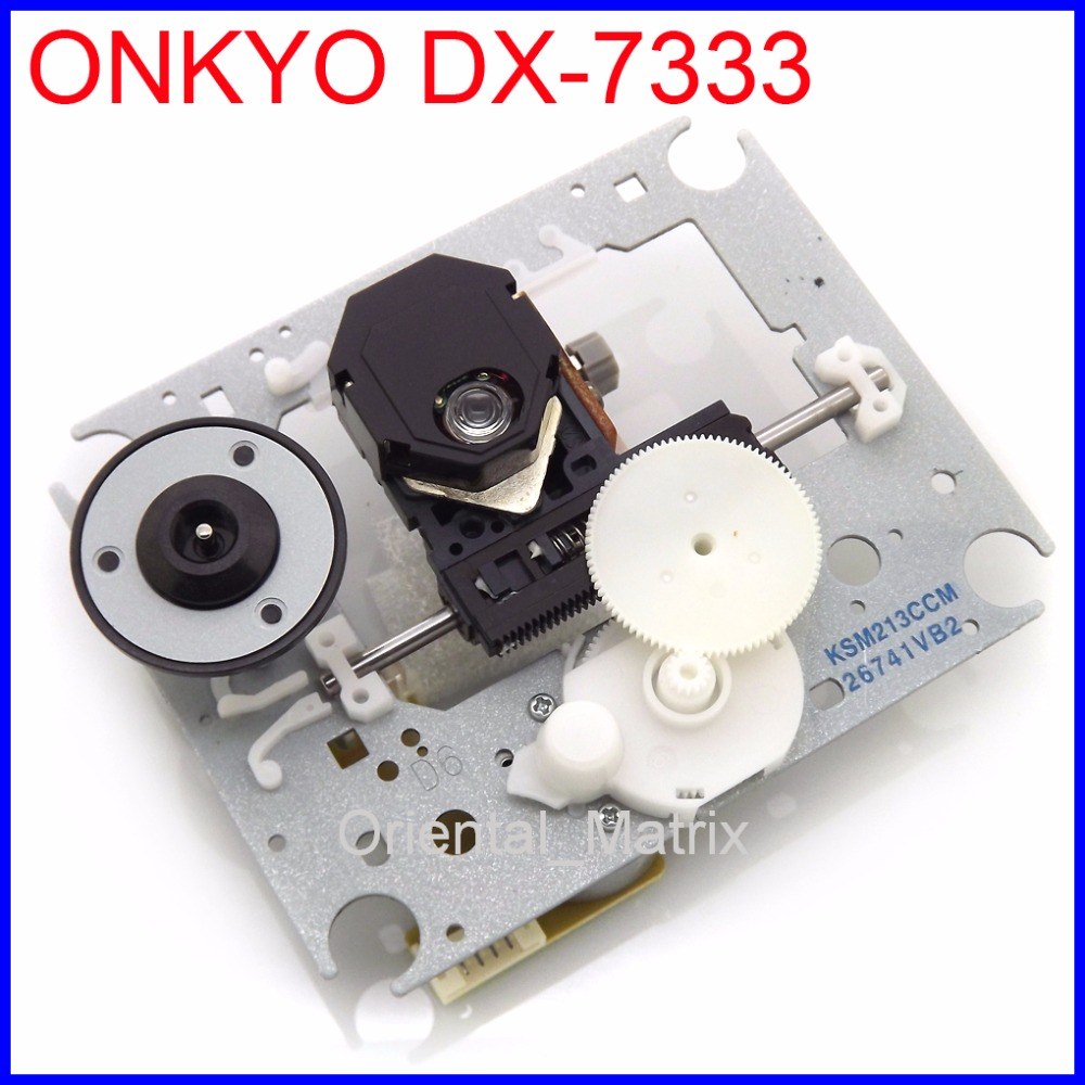 Free Shipping KSM-213CCM Laser Lens With Mechanism For ONKYO DX-7333 CD Player Laufwerk Lasereinheit DX 7333 Optical Pickup ht7333a 1 7333 1 sot89