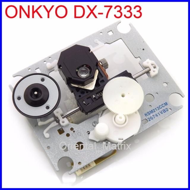 Frete Grátis Lente Laser Com Mecanismo de KSM-213CCM Para ONKYO DX-7333 Cd Laufwerk Lasereinheit DX 7333 Optical Pickup