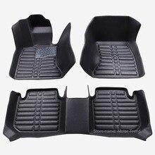 Custom fit voiture tapis de sol pour BMW série 7 E65 E66 730Li 735Li 745Li 740Li 750Li 760Li 730i 735i 740i 745i 740d 3D tapis doublures