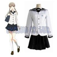 Japanese Anime Prince Of STRIDE Sakurai Nana Women Dress Cosplay Costumes Halloween School Girl Uniform Suit