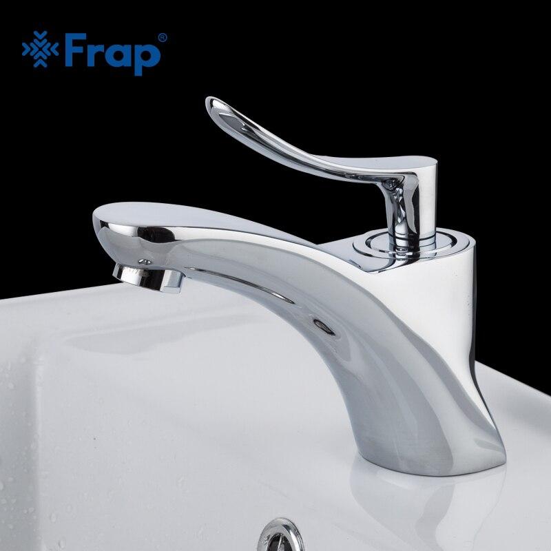 FRAP chrome couleur accueil salle de bains bassin robinets mitigeur froide et débit d'eau chaude sans éclaboussures aérateur doux bulle D'eau