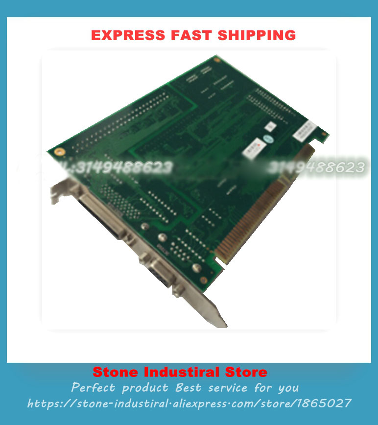 Industrial equipment card PCBASED I/O Board A001-10069 A001-00069 REV.B1 ASIC Controller V1.1 HAL-8063 100% Tested Good Qualiy industrial board rocky 518hv v4 1 well tested working