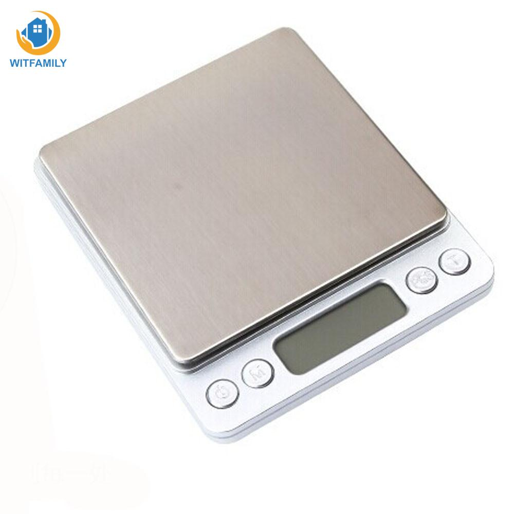 Pocket-Scale Balance-Weight Weighing Digital Electronic Household New 2000g Jewelry Accurate