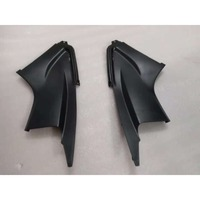 Bodywork Two Side Intake Fairing Air Dust Cover Kit for Yamaha YZF R6 2003 2004 2005 / R6S 2006 2007 2008 2009 Black