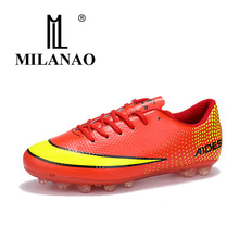 font b Football b font Shoes Sneakers Hard Court Sport Shoes Breathable Slip Resistance Sneakers