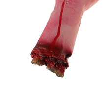 Hot Sale 1PC Severed Scary Cut Off Bloody Fake Latex Lifesize Arm Hand Halloween Prop Hot