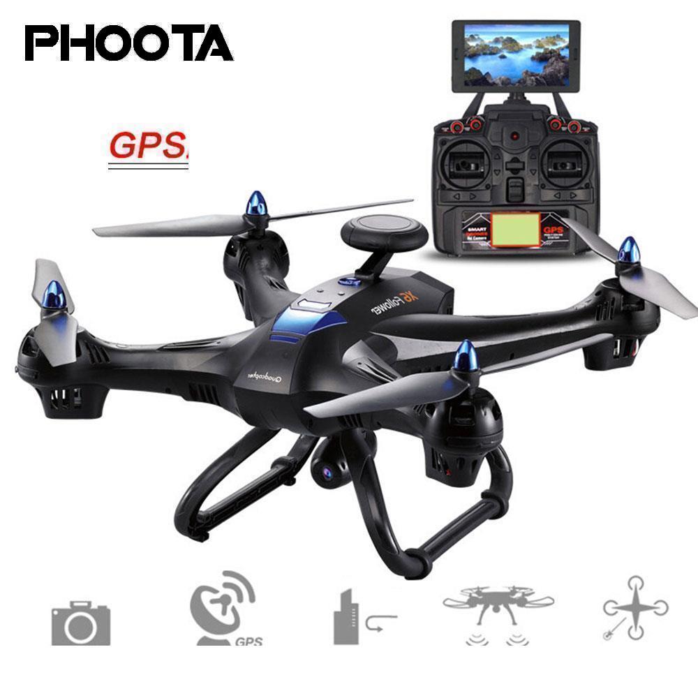 Phoota Drone 2.4 ghz GPS FPV WiFi 2.0MP 720 p Caméra Hover Maintien D'altitude Télécommande Quadcopter Aéronefs