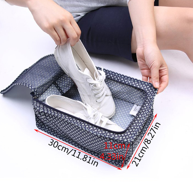 New Portable Waterproof Shoes Travel Bag – Storage Packing Cubes