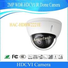 Free Shipping Original DAHUA English 2.1M 1080P IR Vandalproof&Waterproof HDCVI Dome Camera IP67 IK10 without Logo HAC-HDBW2221E