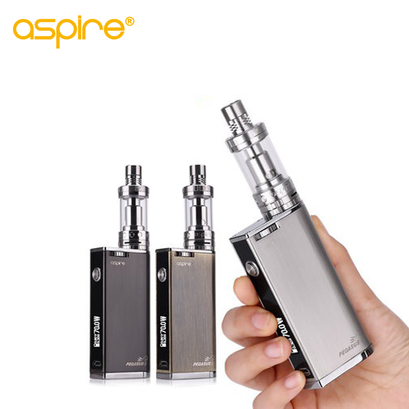 Electronic Cigarette Kit Aspire Odyssey Kit Upgraded With Aspire Pegasus Mod 75W and Triton 2 Tank