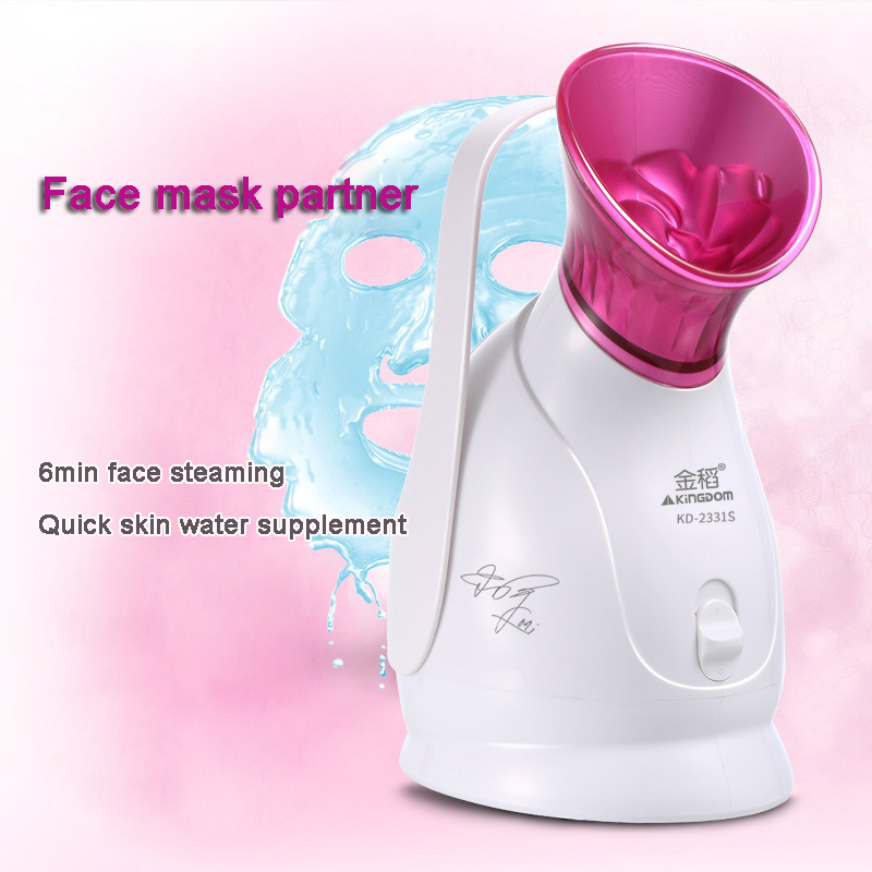 Face Sauna Ion Vapour Facial Steamer Ozone Thermal Sprayer