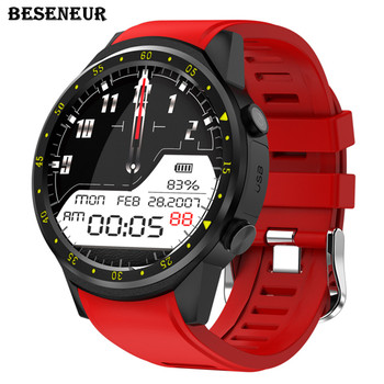 F1 Sports Smart Watch with GPS Camera & Bluetooth