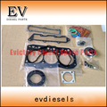 For yanmar engine Kobelco SK20SR 3TN82 3TNA82 3D82 3D82E 3TNC82 full gasket kit /cylinder head gasket 719823-92780