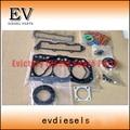 For yanmar engine Kobelco SK20SR 3TN82 3TNA82 3D82 3D82E 3TNC82 full gasket kit /cylinder head gasket 719823-92780