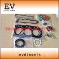 Para motor yanmar Kobelco SK20SR 3TN82 3TNA82 3D82 3D82E 3TNC82 completo kit de juntas/junta de culata 719823-92780